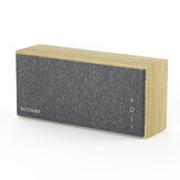 BlitzWolf® BW-HA1 Bamboo bluetooth Speaker with Bamboo Material, Minimalism Style, Treble, Tenor, Bass Balance and Long Working Time