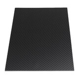 300X500mm 3K Carbon Fiber Board Carbon Fiber Plate Twill Splot Matte Panel Sheet 0.5-5mm Grubość