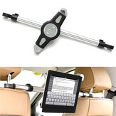 360 ° Adjustable Universal Aluminium Alloy Car Back Seat Head Mount Tablete de montagem iPad Stand Holder