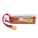 ZOP Power 11.1V 2200mAh 60C 3S Lipo Battery XT60 stik til RC Quadcopter