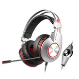 XIBERIA K5 Comfortable USB Over-Ear Pro Gaming Headset for PC with Surround Sound Flexible Microphone
