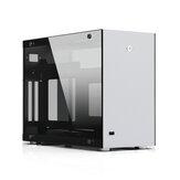 CEMO A4 Alüminyum Alaşım Temperli Cam ITX Bilgisayar Kılıf Mini Kılıf