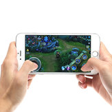 Mini Ultra Thin Touch Screen Mobile Phone Arcade Games Controlador Joystick para Android iPhone Tablet