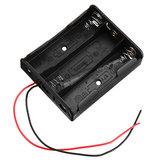3 * 4スロット18650バッテリーホルダープラスチックケース収納ボックス用4 * 3.7ボルト18650リチウム電池