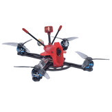 AuroraRC PachRay3 140mm 3 Inch 3-4S 25A ESC 1404 3800KV Motor Brushless Compatível com TBS UNIFY VTX FPV Racing Drone