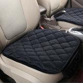 Felpa Coche Cojín del asiento delantero Cubre la silla transpirable Protector Asiento Pad Mat para cuatro estaciones