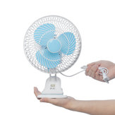 180° Adjustable Desktop Table Electric Fan High Speed Clip On Cooling Fan AC 240V