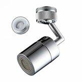 Girar 720 ° Grifo de filtro de salpicaduras universal Grifo de salida de agua Aleación de plata M24