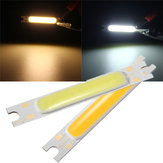 Mini 3W COB LED Lâmpada Strip Light Bar quente Branco / Branco 300LM 10-11V