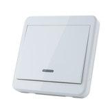5 pcs KTNNKG 433 MHz Universal Wireless Controle Remoto 86 Painel de parede Transmissor RF Com 1 Botões Para Interruptor de iluminação da sala de casa