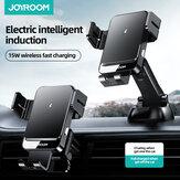 joyroom 15w Qi Kablosuz Hızlı Şarj Araba Telefon Tutucu Standı Araba Hava Firarına Montaj ve Gösterge Tablosu Telefon Montajı 4.7-6.8 için İnç Akıllı Telefon Huawei için iPhone için
