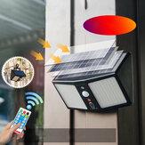 20W 360LED étanche lumière solaire capteur humain extérieur jardin lampe murale de sécurité + télécommande