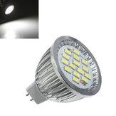 10X MR16 6.4W 480-530LM Weiß SMD 5630 LED Spot Lightt Bulb 10V-18V AC