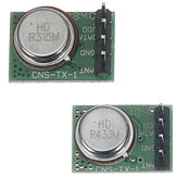 ASK RF High Frequency Transmitter Module TX1 Without Decoding Transmitter Head 315MHz 433MHz