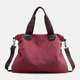 Women Vintage Large Capacity Handbag Shoulder Bag