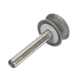 6mm 2-12mm Shank 150 # Diamond Grinding Wheel for Glass طائرة قوس الشطب