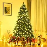 Mini Artificial Christmas Tree Encryption Green Tree with Regular Spruce Lights Decorations 2020 Christmas Decoration for Home Decor