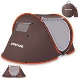 СГОДДЭ палатка для 2-3 человек автоматическая Кемпинг палатка Анти UV тент палатка Водонепроницаемы На открытом воздухе Sunshelter