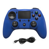 P912 Wireless Wired Bluetooth Gamepad for PS4 Game Controller for PlayStation 4 PS3 Android PC Windows 7 8 10 Built-in Touch Pad Speaker