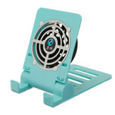 Bakeey Mini Fan Cooling Desktop Phone Holder Foldable Heat Dissipation Lazy Stand for Samsung Xiaomi Non-original