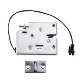 K6855 12V DC 2A Porta dell'armadio elettrico magnetico intelligente serratura Fail Secure con maniglia di sblocco manuale