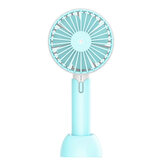 4.5W Mini Handheld Fan 3 Modes USB Rechargeable Cooling Desk Top Travel Office Room