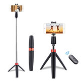 Bakeey Y9 All-in-one Wireless bluetooth Selfie Stick Foldable Handheld Monopod Shutter Remote Extendable for iphone Android Huawei