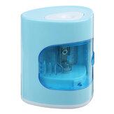 Автоматическая электрическая точилка для карандашей Заточка канцелярских принадлежностей со сменным держателем Инструмент для офиса Шк
