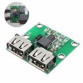 10Pcs Dual USB Output 6-24V To 5.2V 3A DC-DC Step Down Power Charger Module Converter