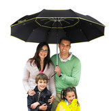 Xmund XD-HK14 Golf Umbrella Double Layer Windproof Anti-UV Umbrella 3-4 People Three Folding Sunshade