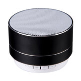 A10 Mini Card Logam Nirkabel Portabel Bass LED Wireless bluetooth Speaker