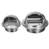 Wall Air Vent Ducting Ventilation Exhaust Grille Cover Outlet Stainless Steel