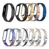 Bakeey Colorful Edelstahluhr Band Ersatzarmband für Xiaomi mi band 3/4