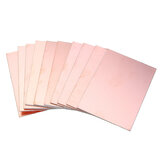 10pcs 7x10cm Double-sided Copper PCB Board FR4 Fiberglass Board
