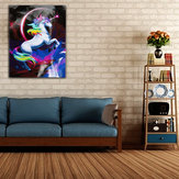 Rainbow Unicorn Paint By Number Kit DIY Digital Oil Pinturas Lienzo Decoración para el hogar