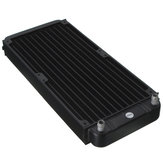 12 Tube 270x118x30mm Computer Radiator Water Cooling Cooler For CPU Heat Sink Aluminum