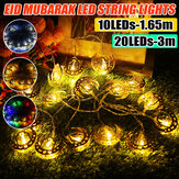 1.65M 3M LED Palace Fairy String Light Battery Powered Ramadan Lamp Party Home Decoration