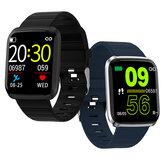 Bakeey 116 Pro 1.3 polegadas Visão ampliada Coração Taxa Monitor de pressão arterial Modos multi-esporte Relógio inteligente