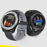 Bakeey M17 1.4 дюймов HD Полное касание Браслет Артериальное давление Монитор 10 спортивных режимов Tracker Smart Watch
