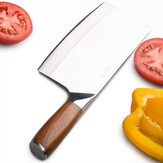 LiRen Forged 3 Layers Composite Stainless Steel Knife From Xiaomi Youpin Kitchen Fruit Fish Meat Cutter