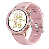 [Monitor de oxigênio no sangue] Bakeey S02 Coração Monitor de pressão arterial 23 Modos esportivos bluetooth V5.0 Relógio inteligente com protetor de tela de relógio grátis
