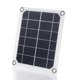 5 Watt 12 bis 18 V Sonnenkollektoren DC Doppel USB Schnittstelle Lade Sonnenkollektor Camping Reisen RV