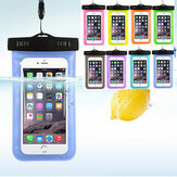 Cell Phone Waterproof Cover Universal Under Water Bag Transparent Touchscreen Mobile Phone Pouch