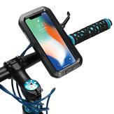 IPX8防水バイク/自転車ハンドルバーホルダー保護ケースiPhone X用