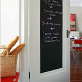Giz Blackboard Stickers Removível Draw Decor Mural Decalques Art Chalkboard Wall Sticker para Crianças
