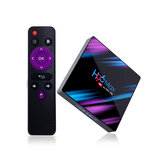 H96 MAX RK3318 4 ГБ RAM 32GB ROM 5G WIFI Bluetooth 4.0 Android 9.0 10.0 VP9 H.265 4K TV Коробка Поддержка Youtube 4K