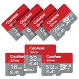 Ceamere Memory Card 8GB-256GB Class 10 High Speed TF/ SD Flash Card for Mobile Phones Tablet Switch Speaker Drone Car DVR GPS Camera