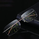 Ultra-light Smart Near-use Multi-focus Presbyopic Reading Glasses