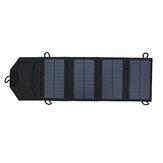 Panel plegable portátil de polisilicio de 10W Solar para trabajo al aire libre
