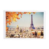 1000 stuks Eiffeltoren puzzel speelgoed DIY montage papier puzzel gebouw landschap speelgoed